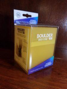 Ultimate Guard Deck Case Boulder 100+ Amber