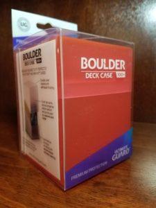 Ultimate Guard Deck Case Boulder 100+ Rhodonit