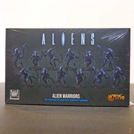 aliens alien warriors front