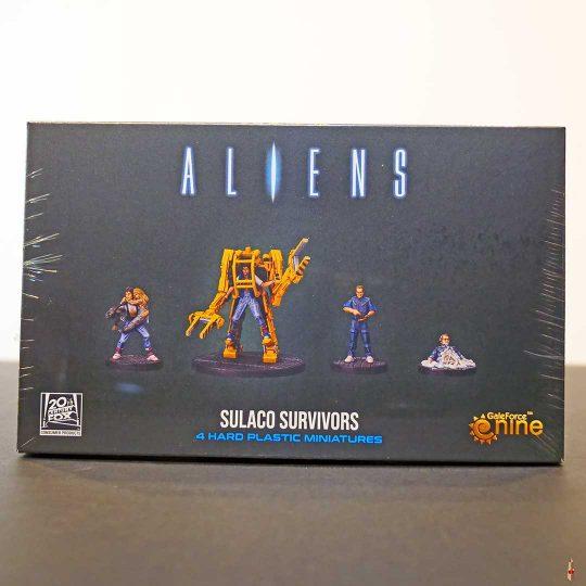 aliens sulaco survivors front