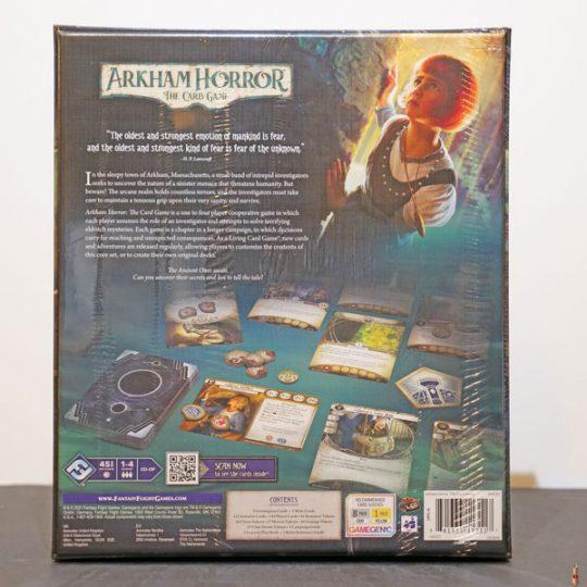 arkham horror card game revised core back