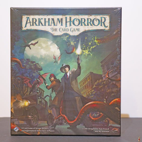 arkham horror card game revised core front
