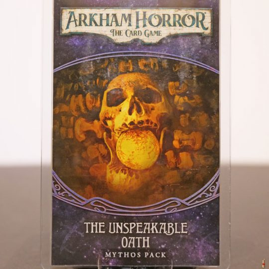 arkham horror card game unspeakable oath front