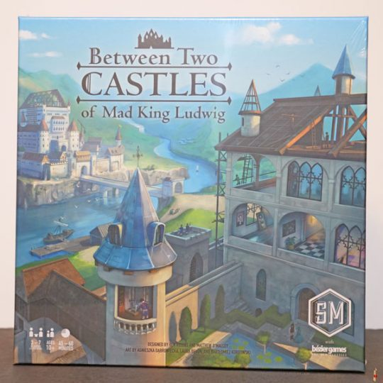 between two castles of mad king ludwig front