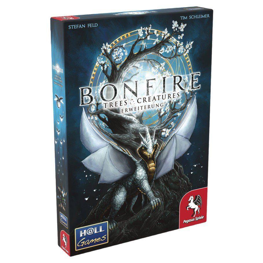 bonfire trees creatures temp