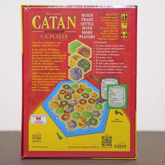 catan 5 6 player back