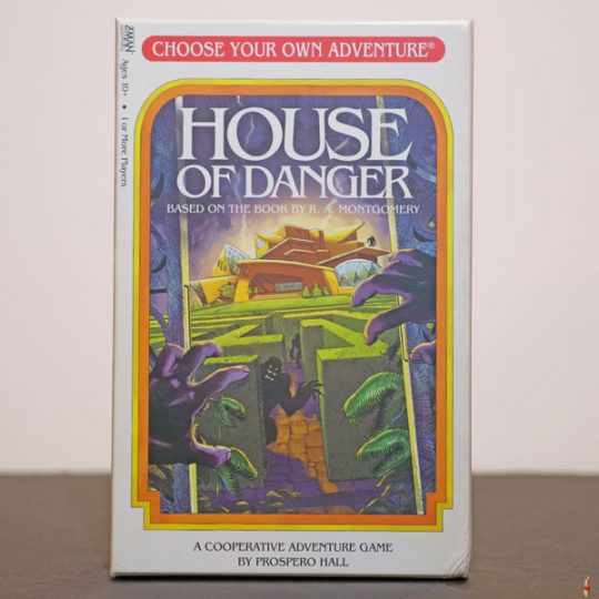 choose your own adventure house of danger front