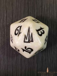 Coldsnap White Spindown Dice