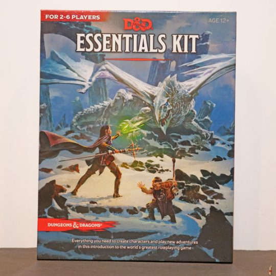 d and d essentials kit front