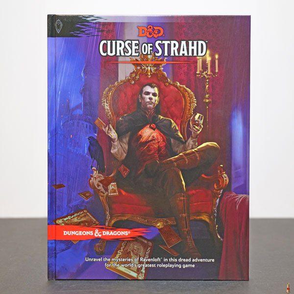 dd curse of strahd front