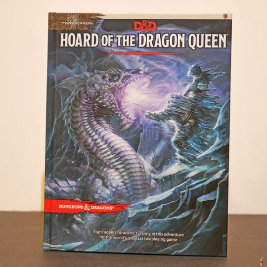 dd hoard of the dragon queen front