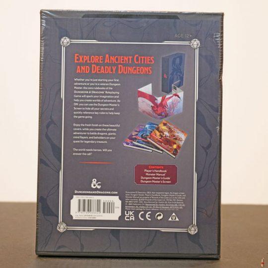 dd rpg core rulebook gift set back
