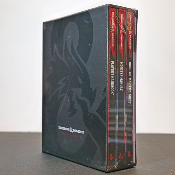dd rpg core rulebook gift set front