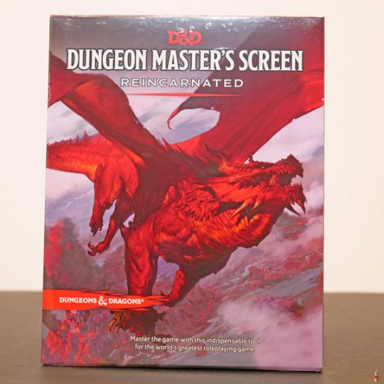 dd rpg dungeon master screen reincarnated front