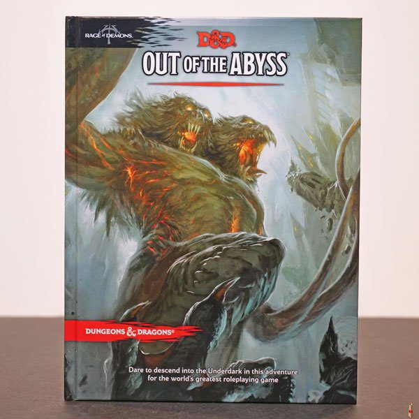 dd rpg out of the abyss front