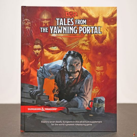 dd rpg tales from the yawning portal front