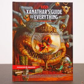 dd rpg xanathar guide everything front