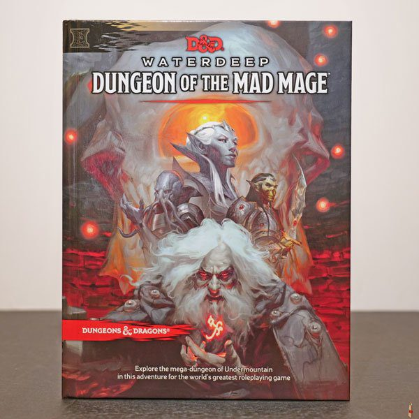 dd waterdeep dungeon of the mad mage front