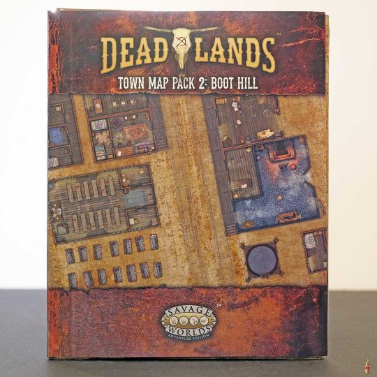 deadlands town map pack 2 boot hill swade front