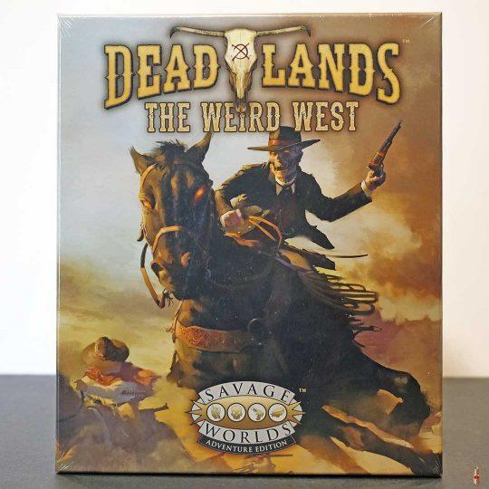 deadlands weird west boxed set swade front