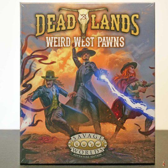 deadlands weird west pawns front