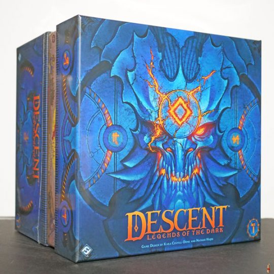 descent legends of the dark front