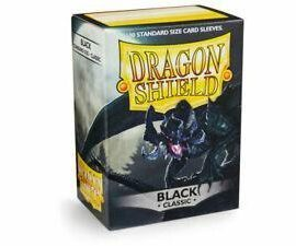 dragon shield black classic 100