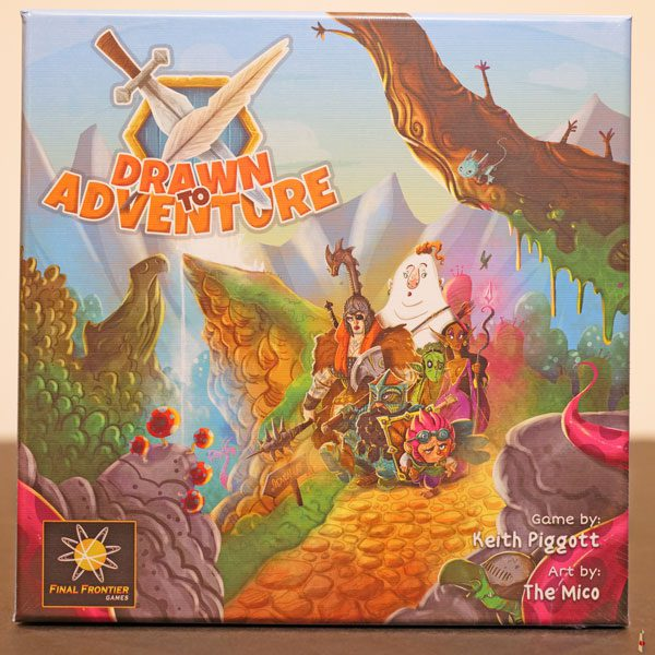 drawn to adventure front