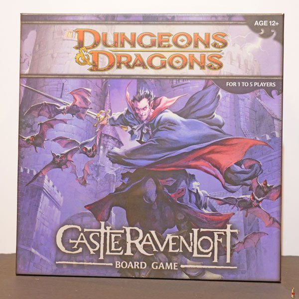 dungeons dragons castle ravenloft board game front