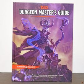 dungeons dragons dungeon master guide front