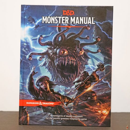 dungeons dragons dungeon monster manual front