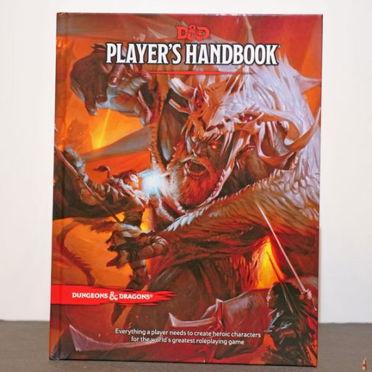 dungeons dragons player handbook front
