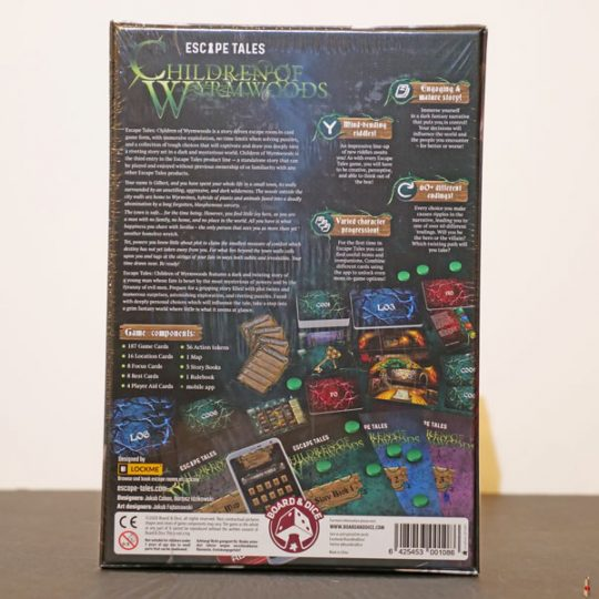 escape tales children of wyrmwoods back