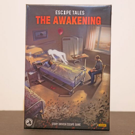 escape tales the awakening front
