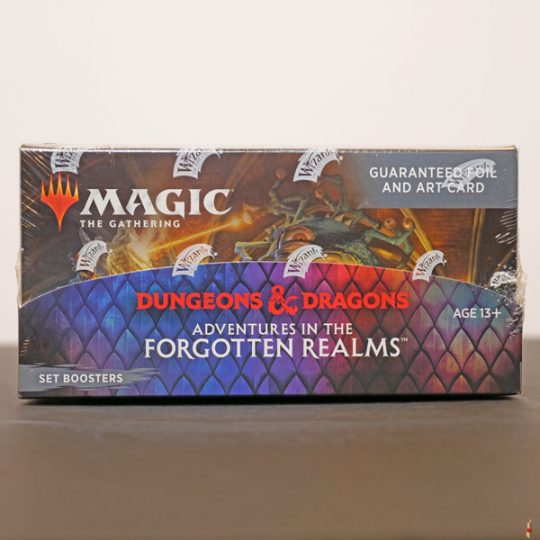 forgotten realms set booster front