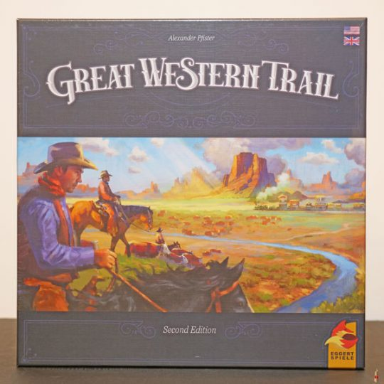 great western trail second edition front
