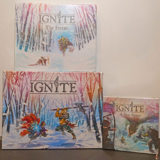 ignite all in front