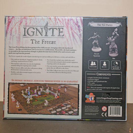 ignite freeze back