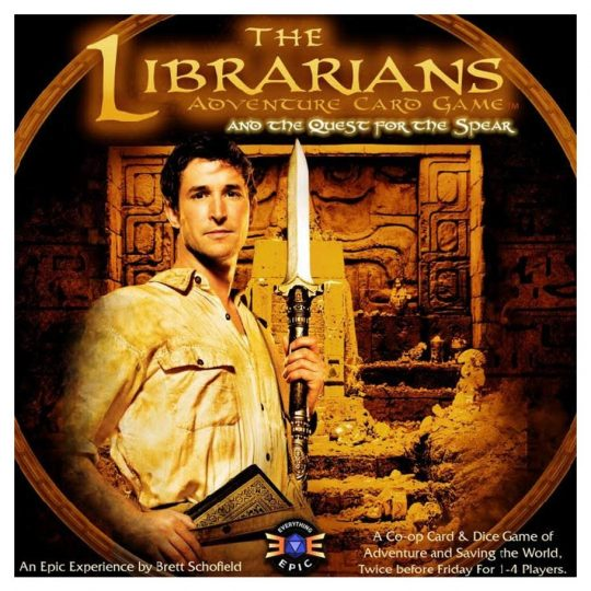 librarians quest for the spear temp