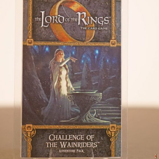 lord of the rings challenge of wainriders front