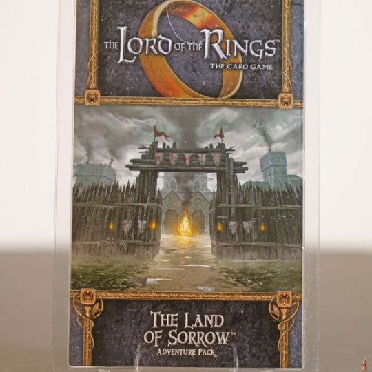 lord of the rings land of sorrow front