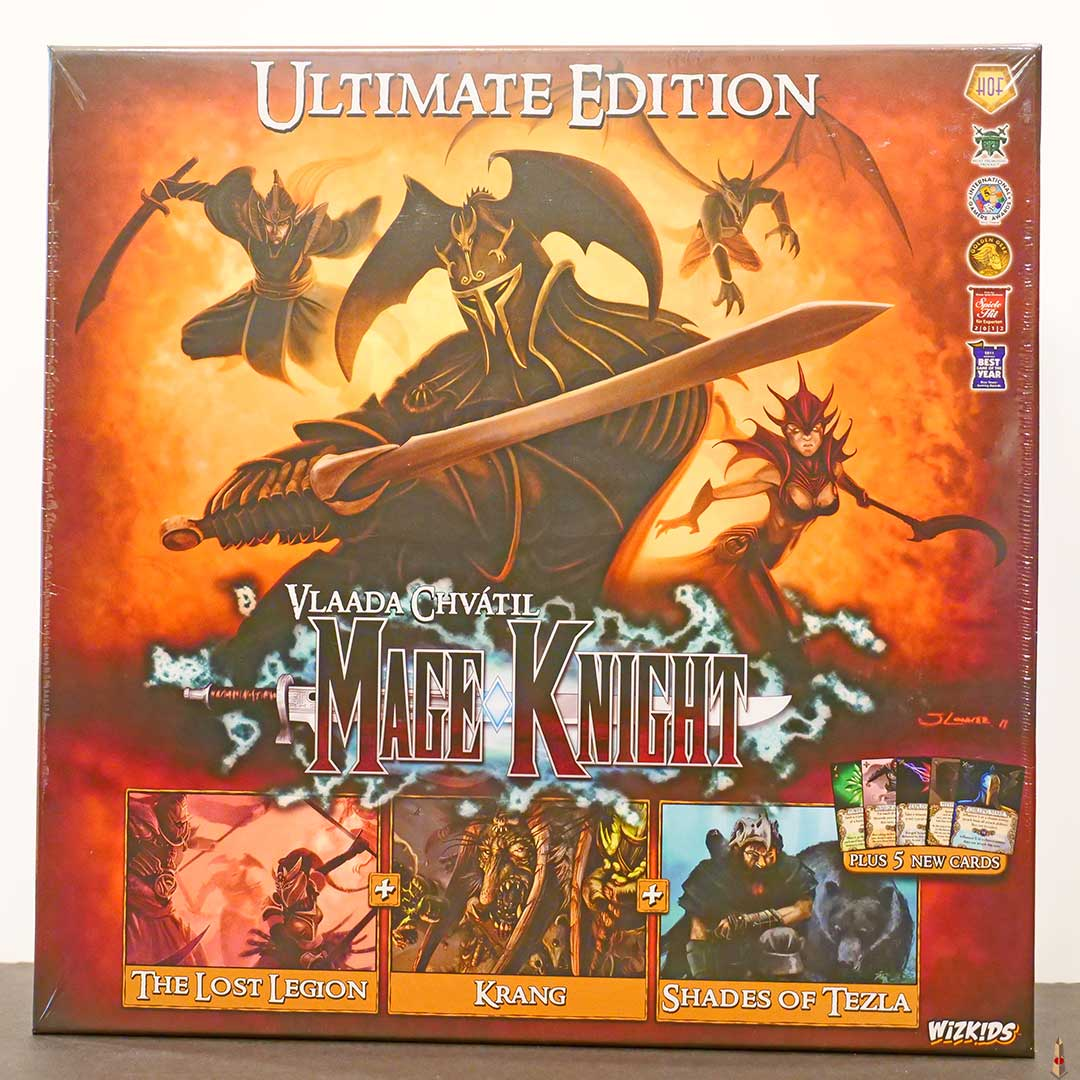 mage knight ultimate edition front