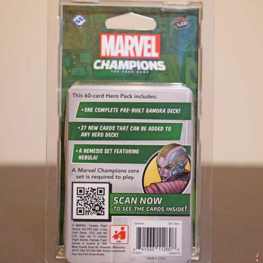 marvel champions gamora back