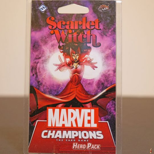 marvel champions scarlet witch front