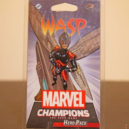 marvel champions wasp front