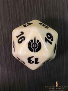 Mirrodin Besieged White Spindown Dice