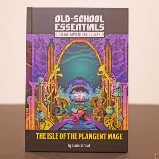 ose adventure isle of plangent mage front