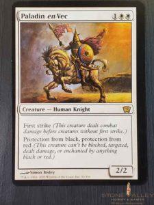 Paladin En Vec Oversized Novelty Card