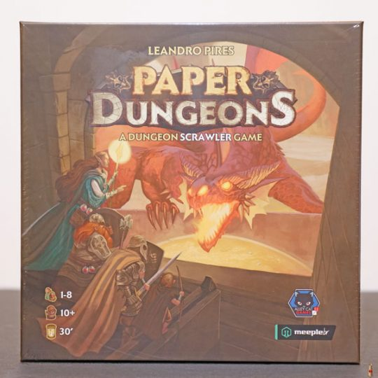paper dungeons front