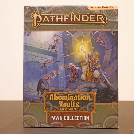 pathfinder 2e abomination vaults pawn front